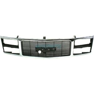 New Front Grille Fits 1988 1993 Gmc C1500 15615109