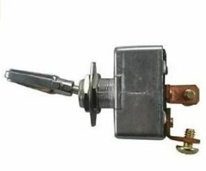 On Off Toggle Type Switch Chrome 1 Handle 12v 50amp