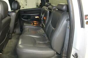 2003 Chevy Silverado 2500 Leather Second Row 2nd Bench rear Seat Oem