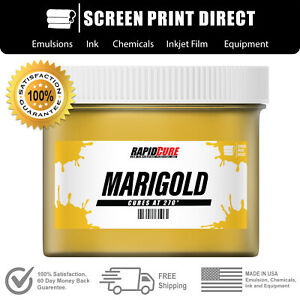 Marigold Screen Printing Plastisol Ink Low Temp Cure 270f Gallon