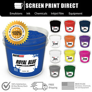 Low Temp Plastisol Ink For Screen Printing Cures At 270 F 12 Colors