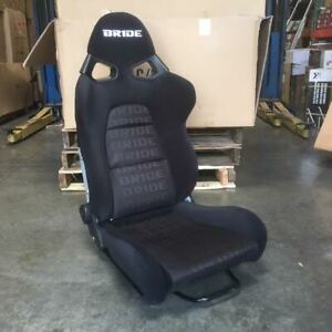 Bride Style Cuga Black Frp Gradation Vios Style Reclinable Racing Seat Large