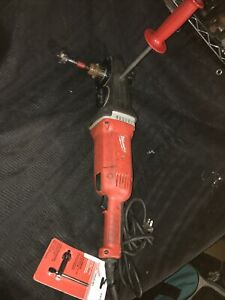Milwaukee 1680 20 1 2 Electric Super Hawg Right Angle Drill With New Chuck Key