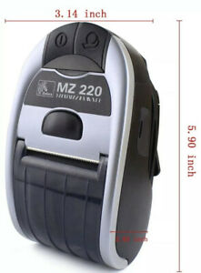 Zebra Mz220 Mobile Receipt Printer Bluetooth Same Day Shipping 6 Month Warranty