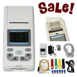 Touch Screen Portable Handheld Ecg90a Electrocardiograph Ecg Machine Ecg90a