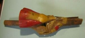 Vintage Medical Anatomy Model Knee With Tendons Labeled Parts Composite Science