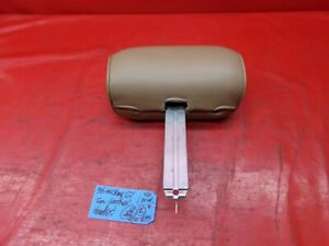 94 98 Mustang Tan Saddle Leather Front Seat Head Rest Headrest Oem Ford Rh Lh R