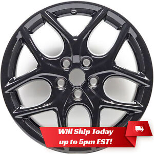 New 17 Replacement Alloy Wheel Rim For 2015 2016 2017 2018 Ford Focus Black
