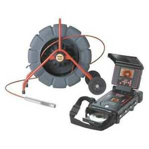 Ridgid 14053 33198 Pipe Inspection Camera Reel Kit 200 Ft L