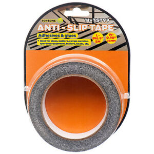 Anti Slip Non Skid High Traction Safety Grit Grip Tape Strips Adhesive Back 196