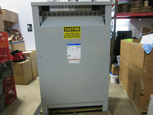 Cutler hammer V48m28t33ee Distribution Transformer 300 Kva 480v To 208y 120v Vgc