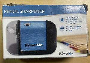 Powerme Electric Pencil Sharpener Battery Operated
