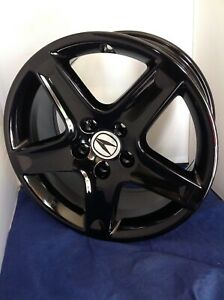 17 Acura Tl 2005 2006 Factory Oem Rim Wheel 71749 71811 Black Full Set 4 Rim
