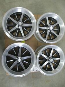 Set 15x7 Rally Wheel Dodge Magnum Cordoba Plymouth Chrysler Redone Read For Cost
