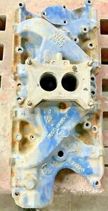 Ford 289 302 V8 Intake Manifold C60e 9425 A 2 Bbl Date March 1967 Mustang