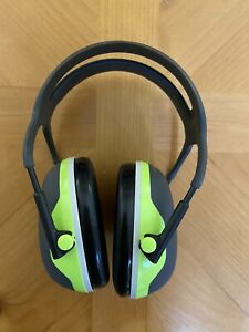 3m Peltor X4a Over the head Ear Muffs 27 Nrr Used Condition