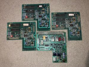 Lot Of 4 Vending Machine Control Boards