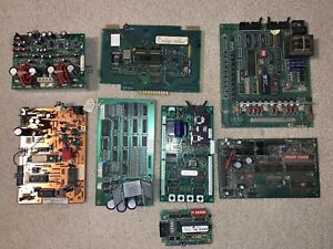 Lot Of 8 Vending Machine Control Boards
