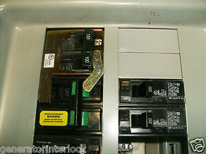 Fac mur100s Murray Siemens Generator Interlock Kit Transfer Switch 100a Listed