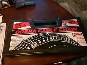 Cobra Cable Tire Snow Chains Stock 1038 Never Used