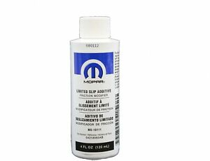 Jeep Dodge Limited Slip Additive Friction Modifier Lubricant Differential Mopar