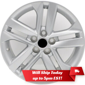 New Set Of 4 16 Silver Alloy Wheels And Centers For 2003 2020 Toyota Corolla