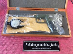 New Japan Made Mitutoyo Dial Gun Groove Gage 0 1 Inch Machinist Tool p2