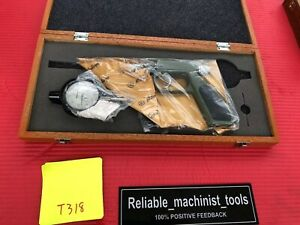 New Japan Made Mitutoyo Dial Gun Groove Gage 0 1 In Machinist Tool t318