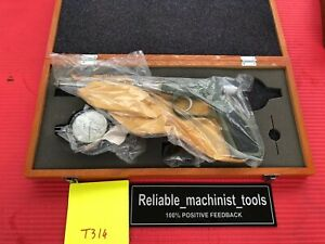 New Japan Made Mitutoyo Dial Gun Groove Gage 0 1 In Machinist Tool t314