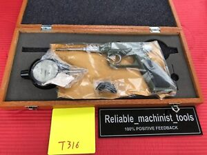 New Japan Made Mitutoyo Dial Gun Groove Gage 0 1 In Machinist Tool t316