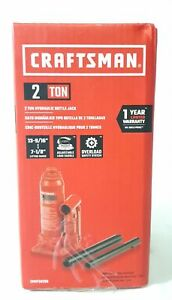 Craftsman 2 Ton 7 1 8 To 13 9 16 Lifting Range Hydraulic Bottle Jack Cmht50280