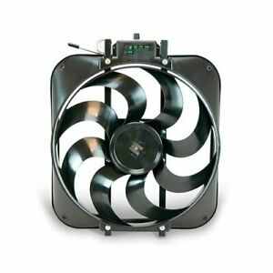 Flex A Lite Black Magic Xtreme Electric Fan 3 000 Cfm Puller 15 Dia Single 160