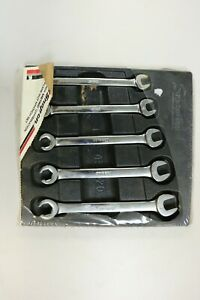 Snap On Rxsm605 5pc Metric Open End Flare Nut Wrench Set