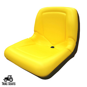 Yellow Seat For John Deere 325 335 345 355d Lawn Mower Tractor Am131531