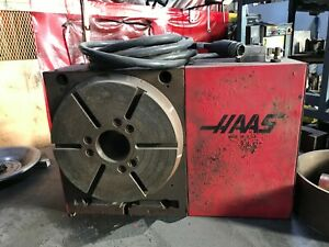 Haas Hrt310 Rotary Table Indexer 17 Pin 12 Table