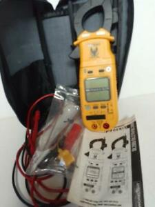 Excellent Uei Ch1 Clamp On Meter Phoenix Ii Dl279 Working Tested Probes Case