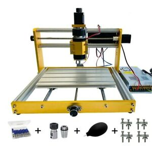 Mini Wood Cnc 3018 Plus Router Engraver Milling Machine 300 500w With Laser Head