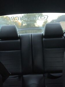 2010 14 Ford Mustang Premium Rear Seats Black Leather