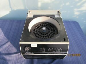 Labconco Centrivap Concentrator Heater Centrifuge 78100 00 Woth Rotor