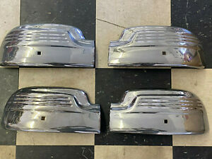 1946 Mercury Ford Chrome Accessory Bumper Tip Set Front And Rear L k