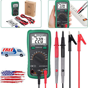 Digital Lcd Multimeter Auto Range Ac Dc Current Voltage Resistance Capacitance