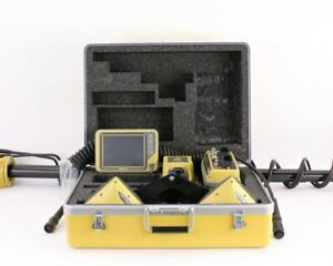 Topcon 3d mc2 Dual Antenna Gps Kit W Mc r3 Uhf Ii Control Box Gx 55 Display