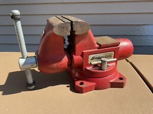Large Wilton snap on Tools Model 1760 Bench Vise 6 Jaws With Swivel Base