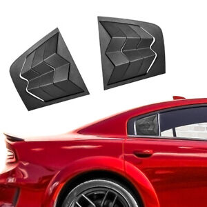 Fit For Dodge Charger 2011 2020 Side Window Louver Scoop Windshield Cover 2pcs