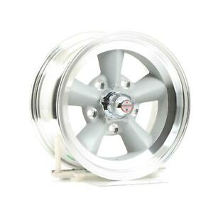 American Racing Vn309 Torq Thrust Original Vintage Silver Painted Wheel