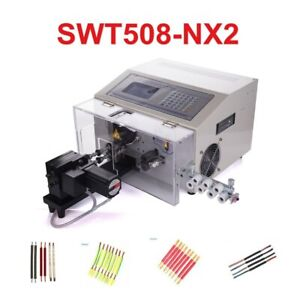 Swt508 nx2 Computer Automatic Wire Strip Peeling Stripping Cutting Machine