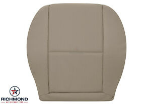 2008 2014 Mercedes Benz C class Sport driver Side Bottom Leather Seat Cover Tan