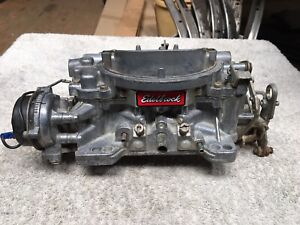 Edelbrock 1406 Carburetor Carb Used