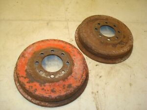 Ford 801 Tractor Brake Drums 600 800