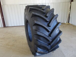 Two New 800 65r32 30 5r32 R1 Tractor Tires